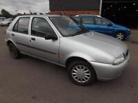 Ford Fiesta lx petrol silver