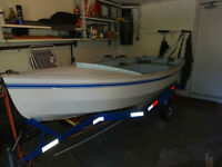 Sailing Boat CL11 & trailer for $1900