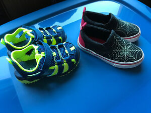 New Sandals and sneakers