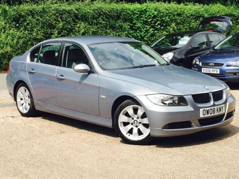 2008 BMW 325i 30 SE Grey 4 Door Saloon only 87801 Miles