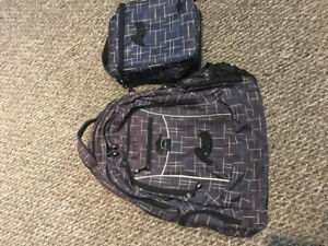Roots 2 piece school bag