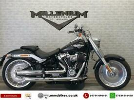 2017 (67) HARLEY DAVIDSON FLFBS FATBOY FINISHED IN BLACK WITH 4000 MILES