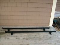 Pair of Roof Racks for a truck cap