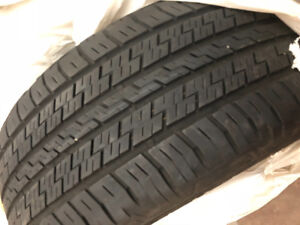 2 All season tires 255/55/R19. Good for one winter.