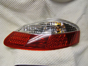 97-04 PORSCHE BOXSTER 986 Roadster Red / Clear LED TAIL LIGHT
