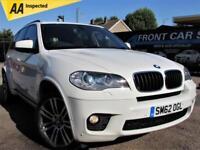 2012 BMW X5 XDRIVE 30D M SPORT 4X4 AUTOMATIC 4X4 DIESEL
