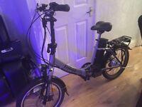 Freego electric folding bike Like New