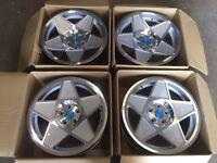 """Set of 4 genuine 18"""" 3sdm 0.05 alloy wheels only split sized 5x112 Vw golf Passat Audi A3 a4 TT seat"""