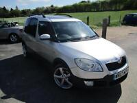 2007 SKODA ROOMSTER SCOUT 16V PAN/ROOF AUTOMATIC MPV (MULTI-PURPOSE VEHICLE) PET