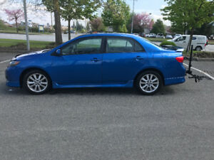 Reliable Sporty Toyota Corolla S 2009
