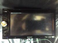 Sony xav-63 double din £100