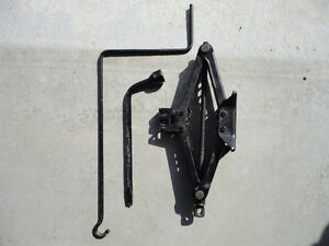 Scissor/ Car Jack with tire iron - Used from Camry