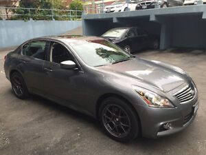 2011 G37xS AWD fully loaded low mileage no accident - $24000