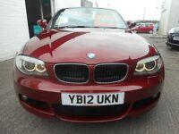 BMW 118i M SPORT (vermillion red) 2012