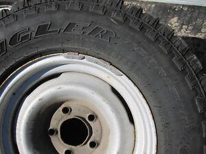 4 goodyear territory tires LT235/75R15 London Ontario image 6