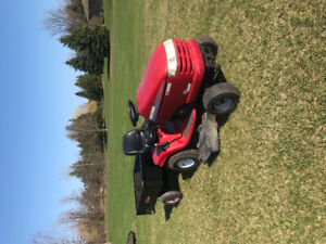 Craftsman 21HP Lawn Tractor with Trailer