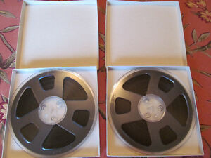 Ampex Reel to Reel Tapes
