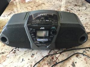 Radio- lecteur cassette-CD