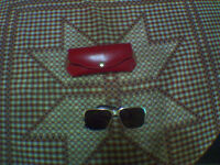 Vintage Marwitz Zeiss Umbral Aviator Sunglasses With Orig. Case