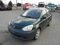 2003 Toyota Echo 5 Speed 215000 KMS Summer & Winter Tires