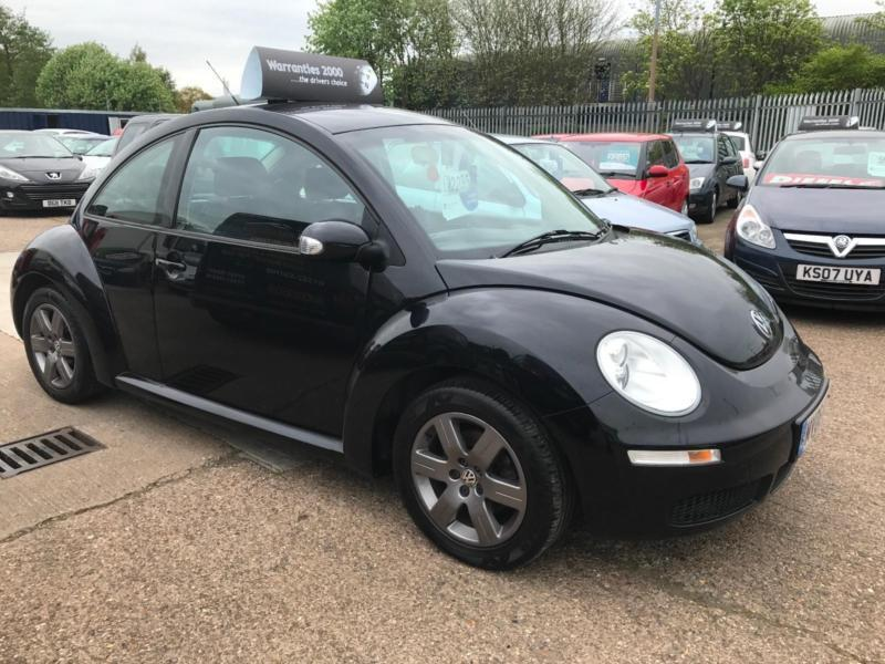 2006 Volkswagen Beetle 1.4 Luna [FACELIFT] Black 3dr Hatch, **ANY PX WELCOME**