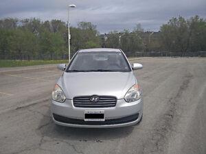 2009 Manual/Standard Hyundai Accent L Sedan