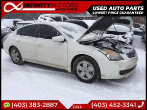 2009 NISSAN ALTIMA FOR PARTS PARTING OUT CARS CAR PARTS