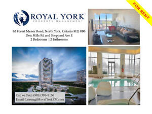 2 BED / 2 BATH PENTHOUSE FOR RENT @ TORONTO   DON MILLS