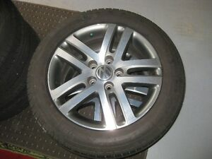 VW Jetta rims and Pirelli 205-55-16 P6 plus performance AS tires
