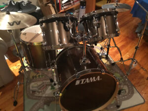 5 Pc Tama Superstar Drum Kit with Heavy Duty Hardware