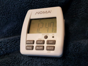 NOMA indoor programmable timer