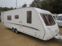 Swift Conqueror 655 2006 4 Berth Fixed Single Beds Twin Axle Touring Caravan