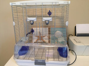 almost new hagen cage, small size