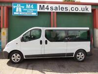 Vauxhall Vivaro 2900 2.0 CDTi 9 Seat Auto Front & Rear A/C
