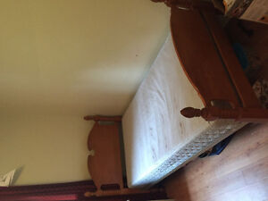 Double headboard, Single Bed & toddler bed