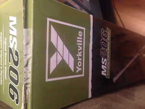 [unopened] Microphone Stand Yorkville Sound Tripod Boom- Chrome