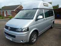 Auto Sleeper Topaz VW T5 2.0 diesel TDI 140 BHP 6 speed manual