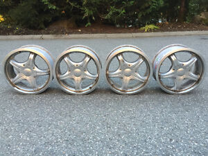 "Ultra Wheels 16"" 5x112 offset: 35-55 (4 used rims)"