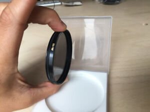 As-new B+W 67mm F-Pro Circular Polarizer for your lens.