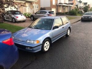 Honda Civic Dx hatch manuel 1990