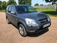 2004 HONDA CR-V 2.0 AUTOMATIC PETROL 5 DOOR SUV