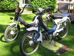 1975 and 1983 HONDA MOPEDS