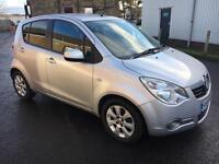 5909 Vauxhall Agila 1.2i 16v Design Silver 5 Door 43247mls