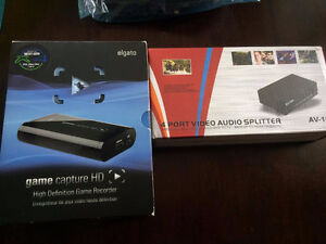 """Used to Stream SSBM"" Elgato Game Capture/AudioSplitterwithcable"