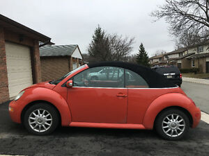 2005 VOLKSWAGEN NEW BEETLE CONVERTIBLE - Selling As Is