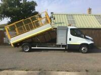 2015 Iveco Daily Tipper Cage Tail Lift 3.0 45C17 170 BHP ** AUTOMATIC ** RARE TI