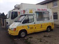 Ford transit icecream van