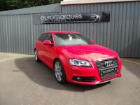 Audi A3 TFSI S LINE (red) 2010