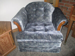 Chair - blue Arm Chair