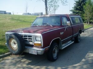 1981 DODGE POWER RAM 150 4X4